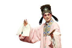 Chinese traditional opera actor Stock Images