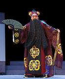Chinese traditional opera actor with theatrical co Royalty Free Stock Image