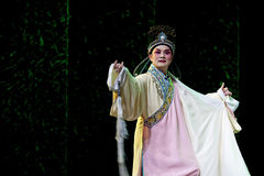 Chinese traditional opera actor with theatrical costume Royalty Free Stock Photo