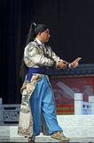 Chinese traditional opera actor with theatrical costume Stock Image