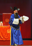Chinese traditional opera actor with theatrical costume Stock Photography