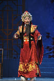 Chinese traditional opera actor with theatrical costume Royalty Free Stock Photos