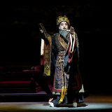 Chinese traditional opera actor with theatrical costume Royalty Free Stock Image