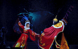 Chinese traditional opera actors Royalty Free Stock Photos