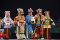 Chinese traditional opera actors Royalty Free Stock Images
