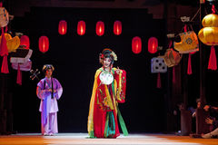 Chinese traditional opera actors Stock Images