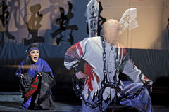 Chinese traditional opera actors Stock Photography
