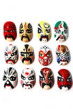 Chinese Traditional Opera Mask Royalty Free Stock Photo