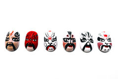 Chinese Traditional Opera Mask Royalty Free Stock Image