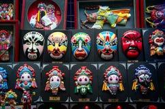 Chinese traditional opera mask Stock Photos