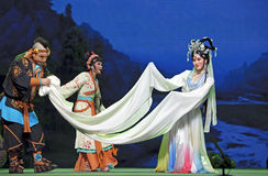Chinese traditional opera performers Royalty Free Stock Image