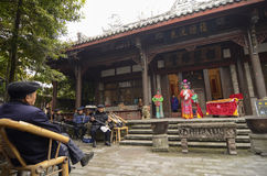 Chinese Traditional Opera Stock Image