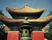 Chinese traditional pagoda, daytime Stock Photo