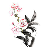 Chinese traditional painting Stock Images