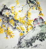 Chinese traditional painting Stock Photography
