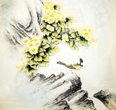 Chinese traditional painting Royalty Free Stock Photos