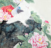 Chinese traditional painting Stock Photo