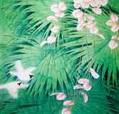 Chinese traditional painting Stock Photos