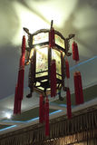The chinese traditional palace lantern Stock Photos