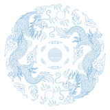 Chinese Traditional Pattern(Dragon) Stock Images