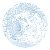 Chinese Traditional Pattern(Dragon) Royalty Free Stock Photography