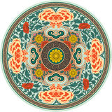 Chinese Traditional Pattern Rosette royalty free stock photo