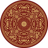 Chinese Traditional Pattern Rosette Stock Photography
