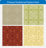 Chinese traditional patterns Stock Photography