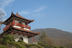 Chinese traditional pavilion Stock Photography