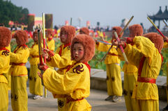 Chinese traditional performance Stock Images