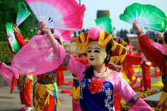 Chinese traditional performance Royalty Free Stock Photo