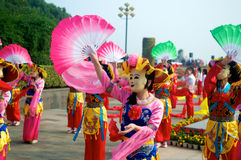 Chinese traditional performance Royalty Free Stock Photography