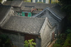 Chinese traditional residential buildings Royalty Free Stock Photo