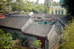 Chinese traditional residential buildings Royalty Free Stock Photos