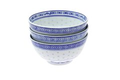 Chinese traditional rice bowls Royalty Free Stock Photos