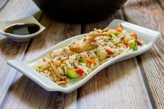 Chinese traditional rice stock photo