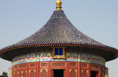 Chinese traditional roof Royalty Free Stock Photo