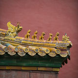 Chinese traditional roof decoration Royalty Free Stock Photos