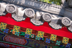 Chinese traditional roof Stock Image
