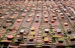 Chinese Traditional Roof Tiles Royalty Free Stock Photography