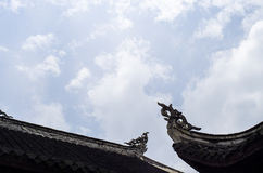 Chinese traditional roofs Stock Photo