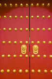 Chinese traditional royal gate. In beijing Stock Photography