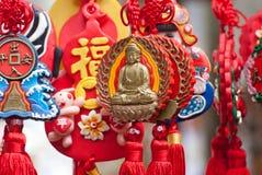 Chinese traditional sachet, New Year's mascot, Cli Stock Photography