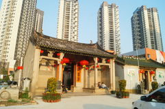 Chinese traditional shrine building Stock Photography