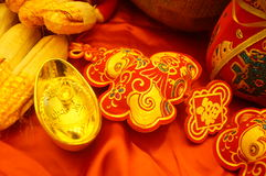 Chinese traditional spring festival festive decoration Stock Image