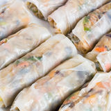 Chinese Traditional Spring rolls food Royalty Free Stock Photography