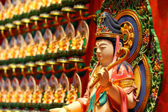 Chinese traditional statue, Kuan Yin Royalty Free Stock Photography