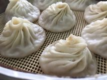 Chinese traditional steamed dumplings Royalty Free Stock Photography