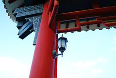 Chinese traditional style architecture Royalty Free Stock Photos