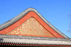 Chinese traditional style roof Stock Photos